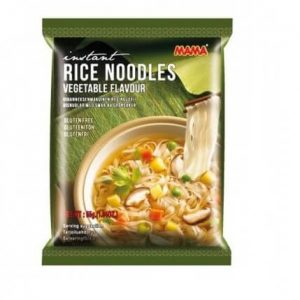 MAMA Gluten Free Vegetable Rice Instant Noodles, 55g
